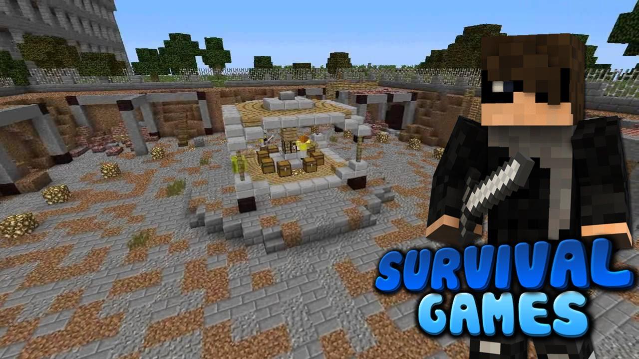 Карта для майнкрафт survival games 4