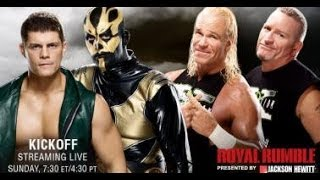 WWE Royal Rumble 2014 : Cody Rhodes & Goldust vs The New Age Outlaws Is Official