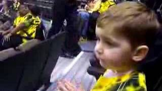 Luke doing the Wake Forest fight song