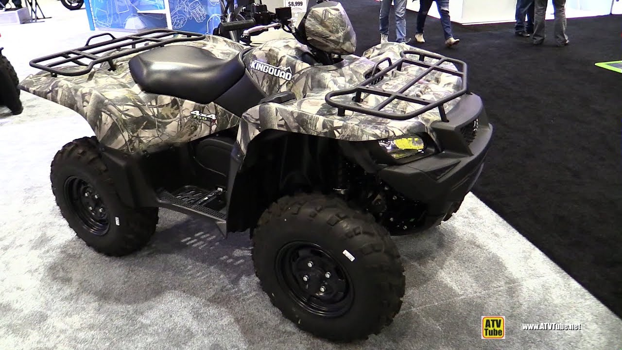 2017 suzuki king quad 750 axi 4x4 walkaround 2016. Black Bedroom Furniture Sets. Home Design Ideas