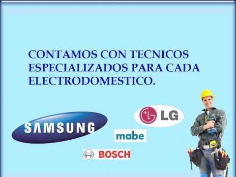 SERVICIO TECNICO MABE , BOSH, LG, SAMSUNG ESPECIALISTAS