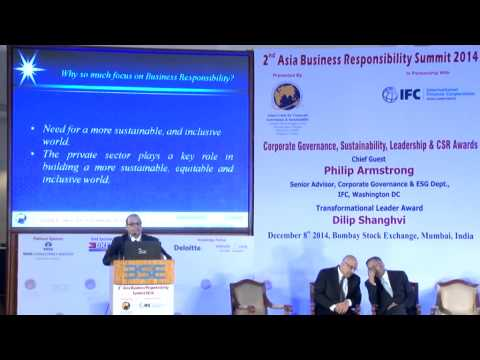 2nd Asia Business Responsibility Summit 2014 - Part 1