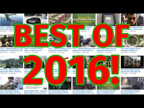 Best of 2016 - AlphaWhiskeySix Channel 2016 Year in Review