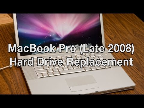 MacBook Pro (Core 2 Duo) Hard Drive Replacement
