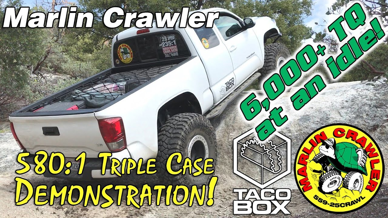hight resolution of 580 1 triple case demonstration in a 3rd gen 2016 toyota tacoma
