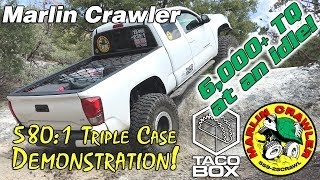 580:1 Triple Case Demonstration in a 3rd gen 2016 Toyota Tacoma