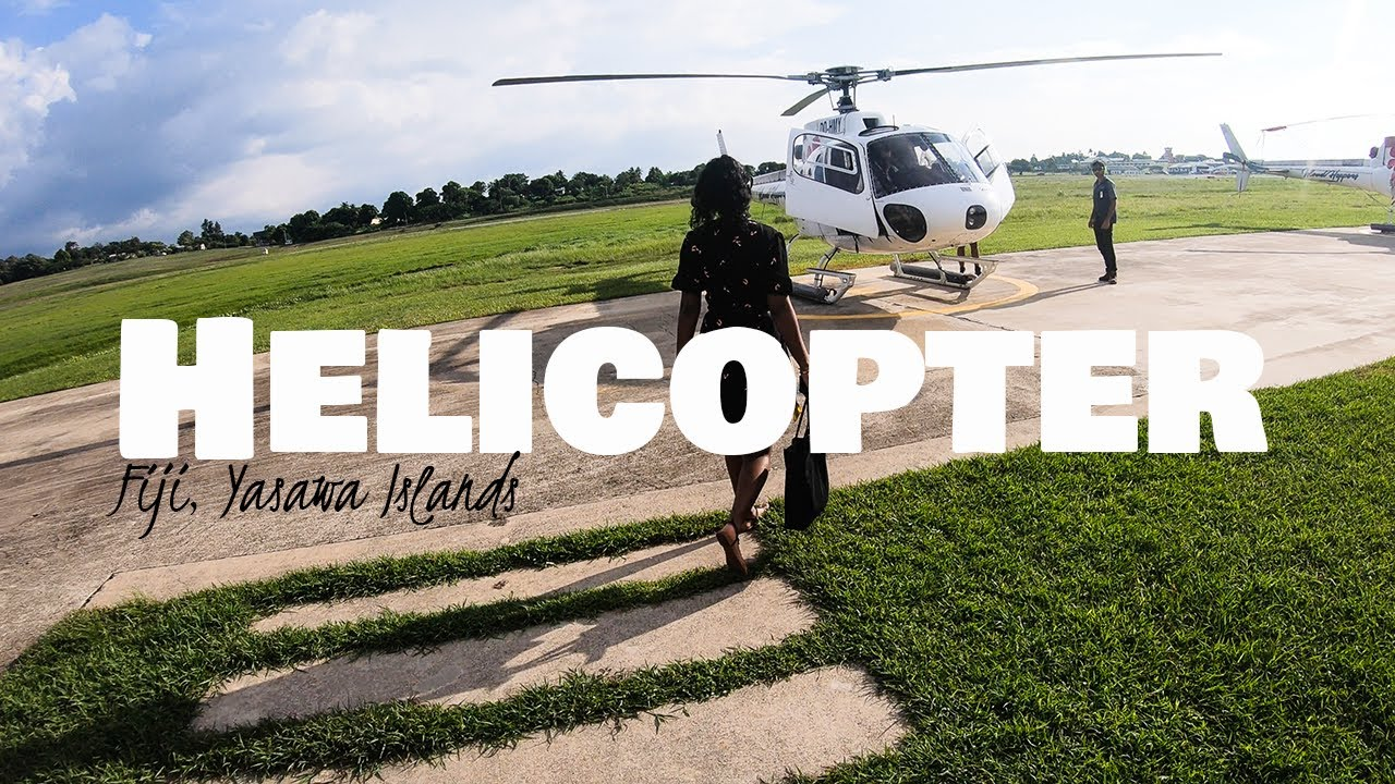 Helicopter Ride in Fiji│ Airport - Paradise Cove Resort