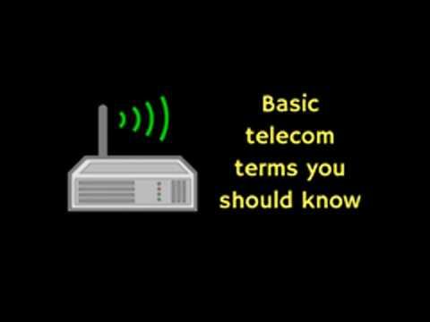 basic telecom terms you should know