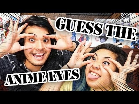 GUESS THE ANIME EYES CHALLENGE! (feat. akidearest)