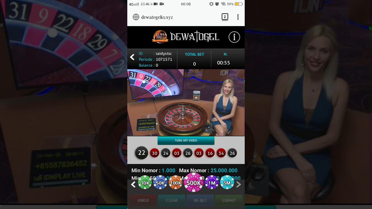 Simulasi Roulette Dewa Togel Modal Rp 10 000 000 Dalam 7 Menit Menjadi Rp 92 000 000 No Edit Real Youtube