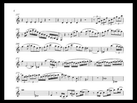 Mozart Klarinettenkonzert KV 622 1 Satz - for Bb-Clarinet
