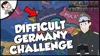 Boosted Allies v Debuffed Germany Challenge Hearts of Iron 4 hoi4 Gameplay
