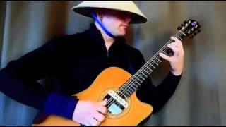 Clip đội nón lá, chơi nhạc sàn bằng guitar cực 'đỉnh'   YouTube