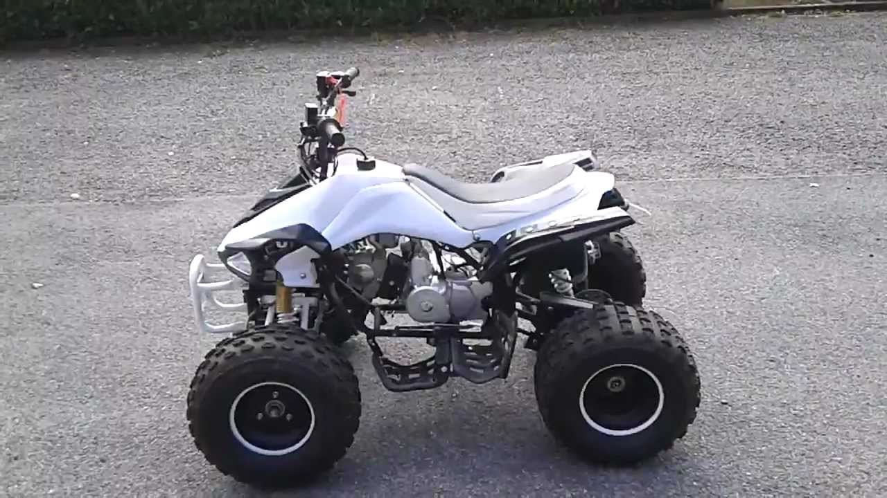 medium resolution of quad 125cc 4 temps carbone