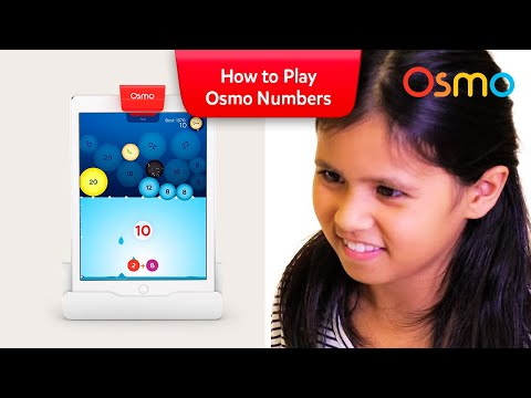 How to play Osmo Numbers