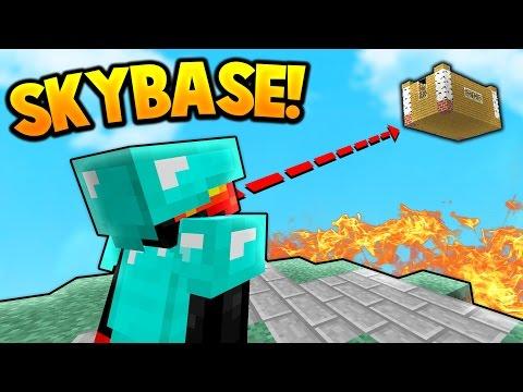 SKY BASE TROLLING! | Minecraft SKY WARS - Видео из Майнкрафт (Minecraft)