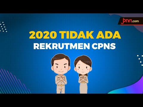 Corona, Tidak Ada Rekrutmen CPNS dan PPPK Tahun Ini