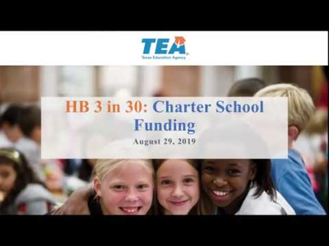 HB 3 In 30: Charter Schools Allotment