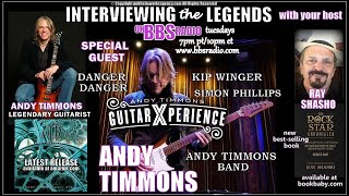 Andy Timmons Guitar Genius/ Past Member of 'Danger Danger '
