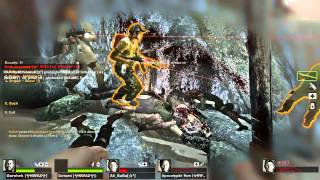 Left 4 Dead 2 Cold Stream final - Cut-throat Creek Finale 16 Players Online coop PC