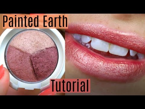 Painted Earth Skincare Eyes & Lips Tutorial