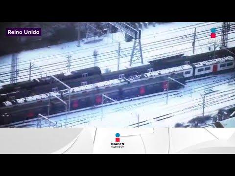 Frío intenso en toda Europa   Noticias con Yuriria Sierra