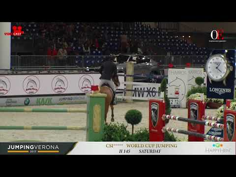 OE TV 3. Marc Houtzager with Sterrehof's Bylou | h 1.45 Jumping Verona 2017