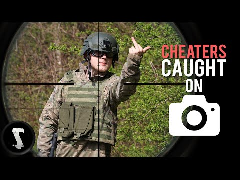 Pissing off Airsoft Cheaters with 500 FPS Sniper Headshots