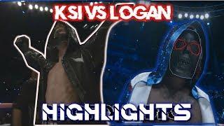 LOGAN PAUL VS KSI FIGHT HIGHLIGHTS!!