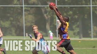 Download The Australian Bringing Former NFLers to Aussie Rules Mp3 and Videos