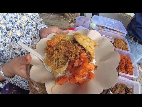 Indonesia Jakarta Street Food 2442 Part.1 Nasi Uduk Mama Ayi YDXJ0662