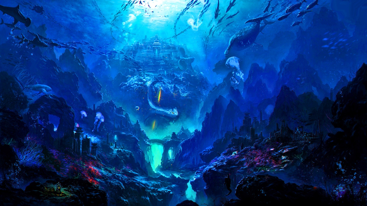Magical Fantasy Hd Wallpapers That Will Take Your Breathe: Seraqua (Original Mix) [CymaticSound] [HD