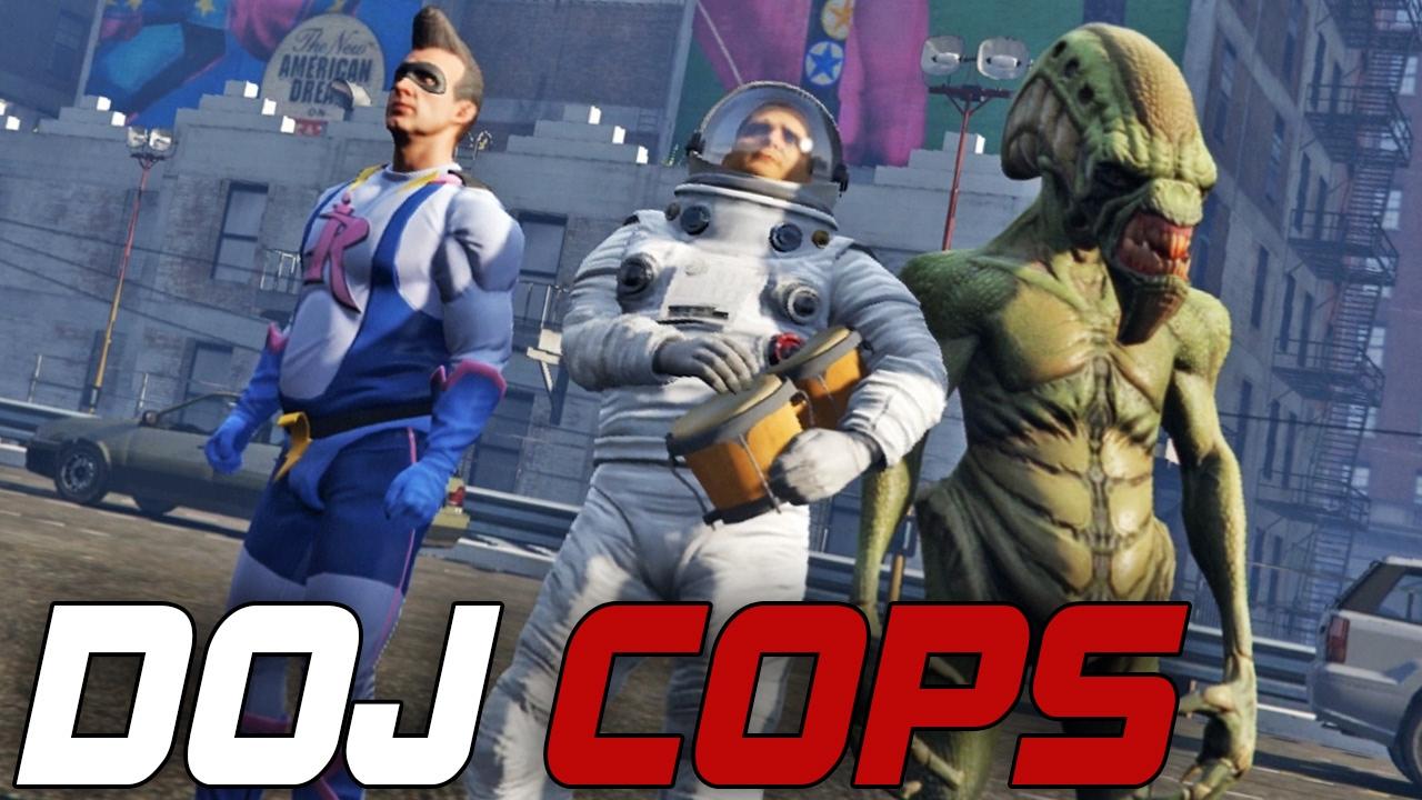 Dept. of Justice Cops #75 - Comic Con Riot (Criminal)