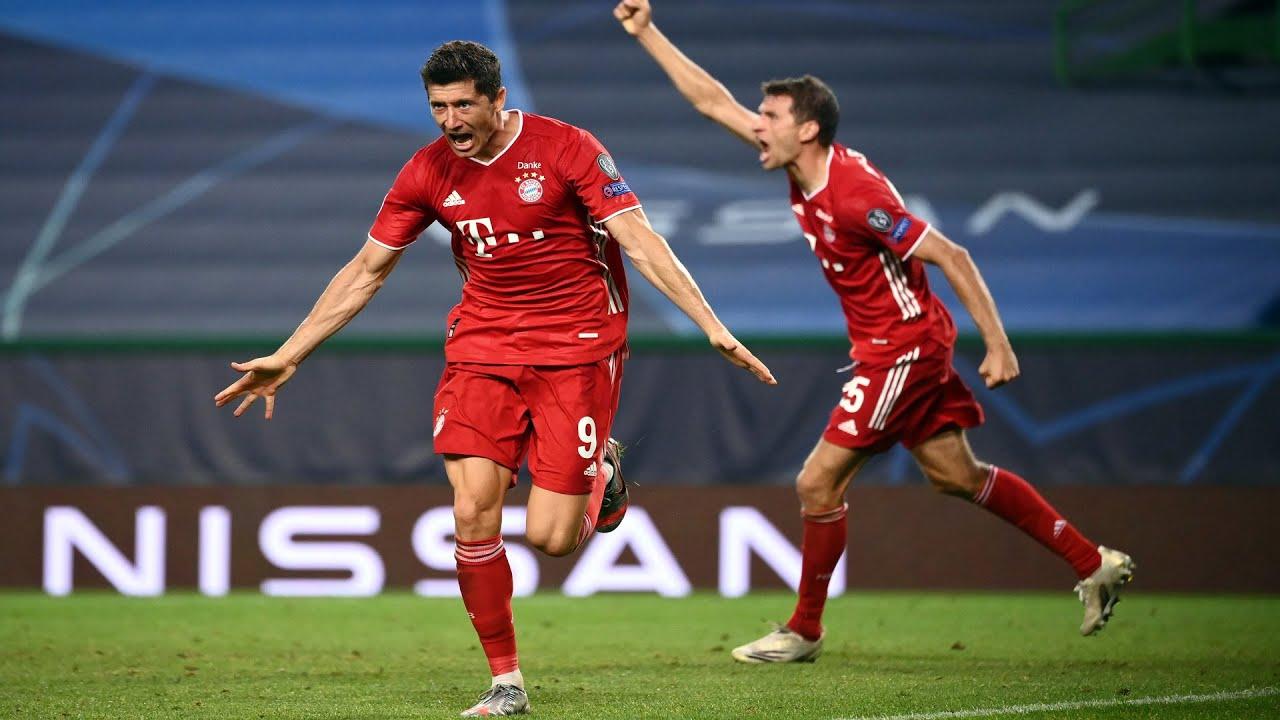 UEFA Champions League | SF | Olympique Lyon v Bayern Munich | Highlights