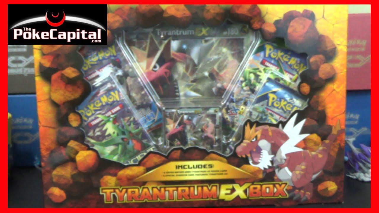 Pokemon Cards Tyrantrum Ex Box Opening