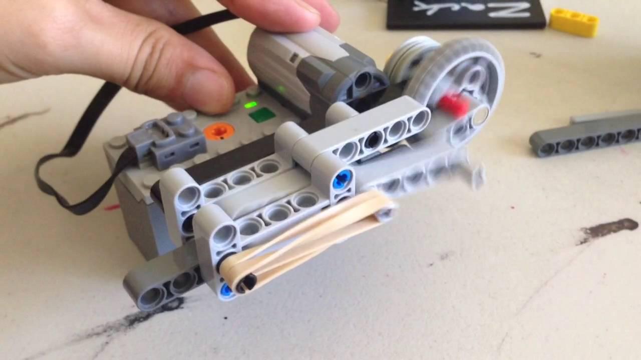 How To Build A Lego Gun Mechanism