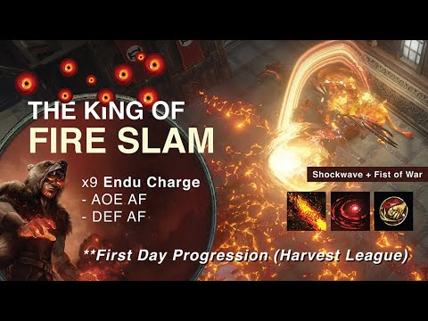 Fist of War + Shockwave support + Chieftain Tawhoe's Chosen = SLAM AF (First Day Progress)