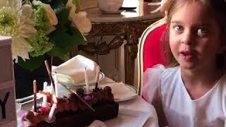 Дочь Александра Реввы Амели отмечает 5 летие