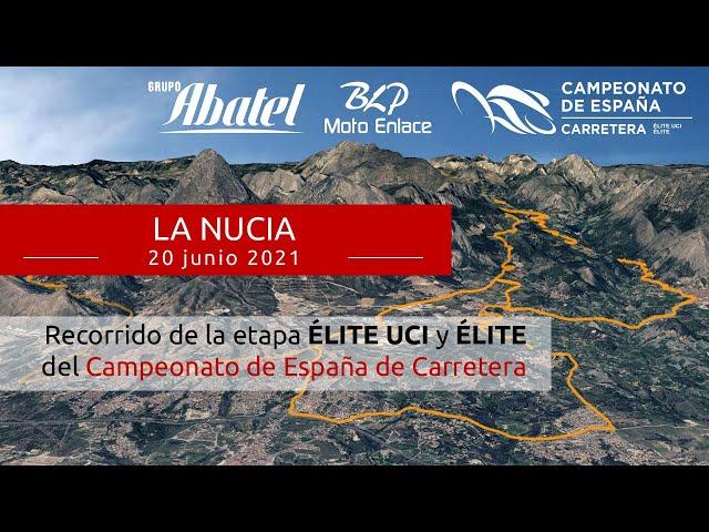 La Nucia. Campeonato de España Carretera 2021. Élite y Élite UCI