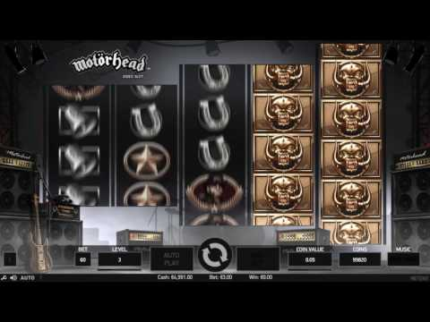 Motörhead Video Slot™ - NetEnt