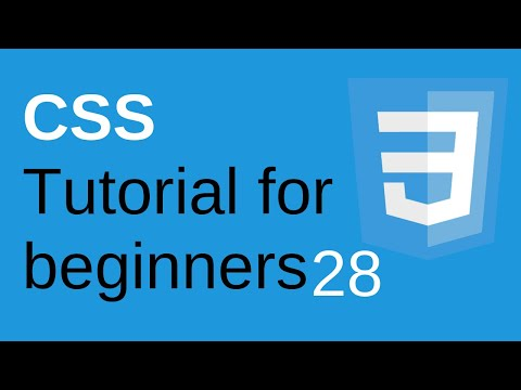 CSS Tutorial for Beginners Part 28 - CSS Opacity | Learn Web Technologies thumbnail