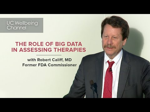 The Role of Real World Evidence and Big Data in Infectious Disease Care  with Robert Califf MD
