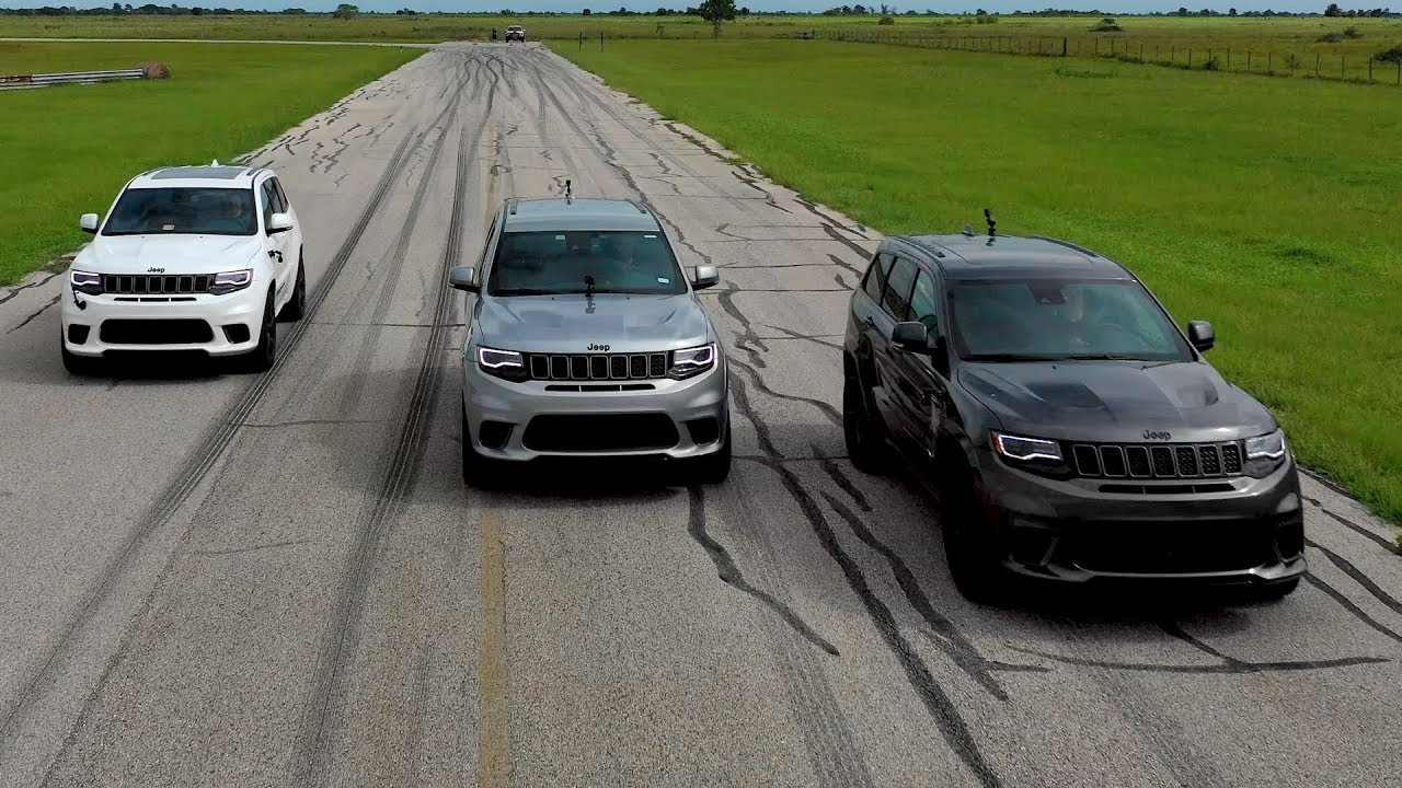 Jeep Trackhawk Hpe1000 Supercharged Hennessey Performance