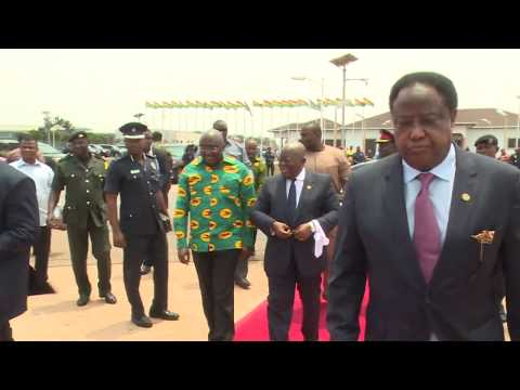 PRESIDENT AKUFO-ADDO LEAVES FOR A 3-DAY OFFICIAL VISIT TO EQUITORIAL GUINEA_AKM