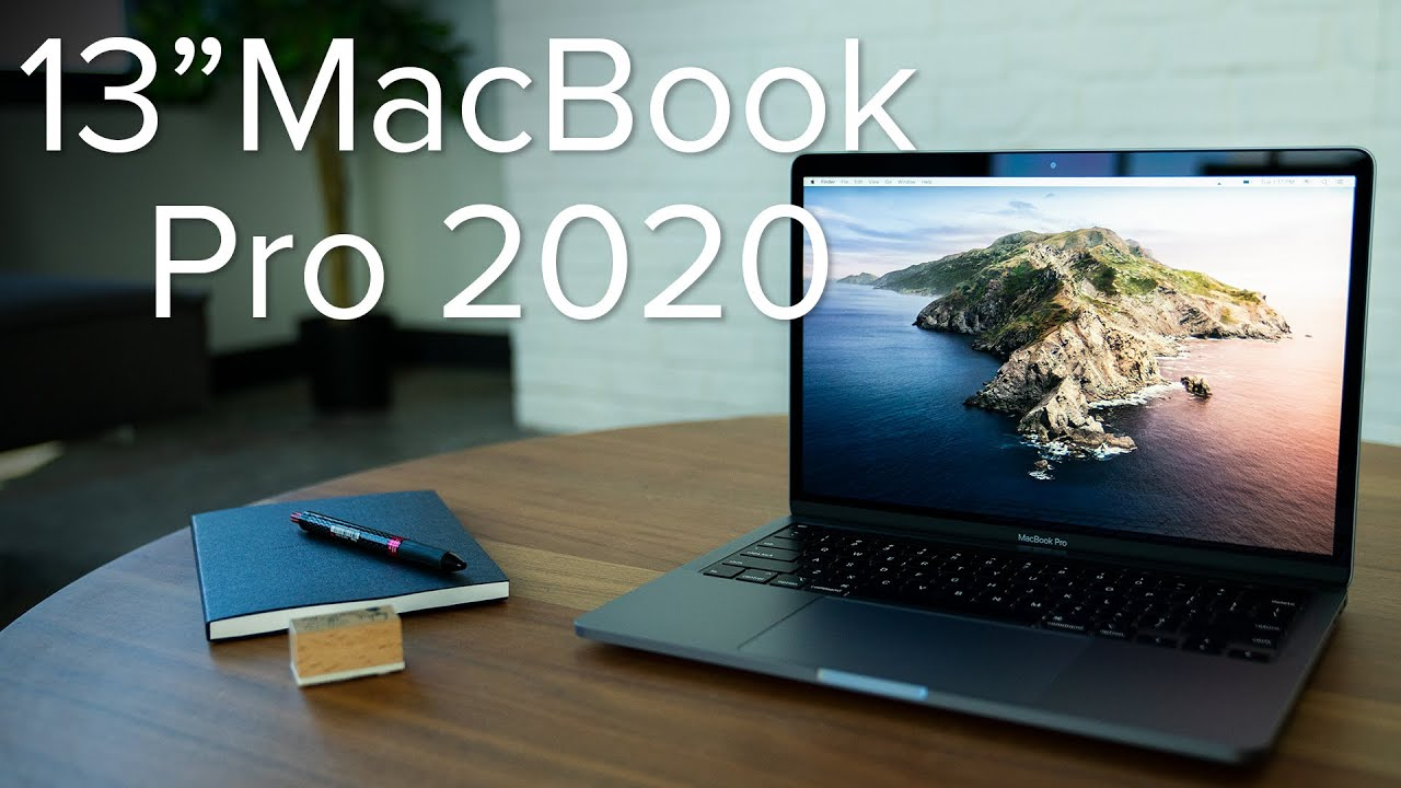 13-inch MacBook Pro (2020) unboxing - YouTube