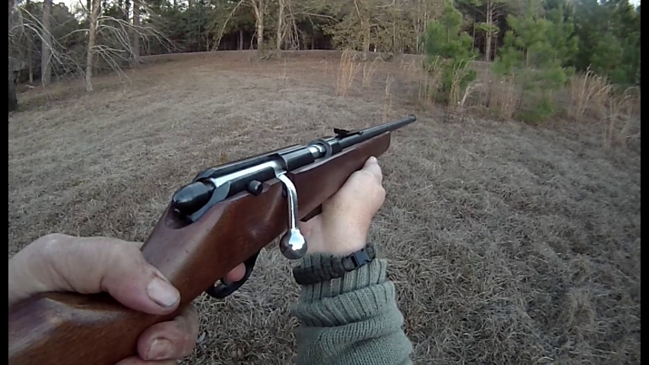 Marlin Model 80G Bolt Action  22 Rifle Try Out