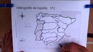 Mapa hidrográfico 5º
