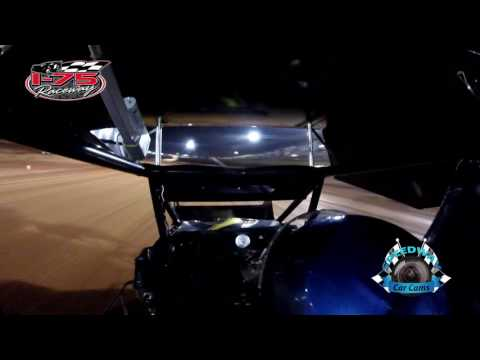 #1 Bobby Zaiontz - Winner - Mini Sprint - 4-28-17 I-75 Raceway - In-Car Camera