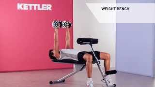 Kettler Training Bench Vario