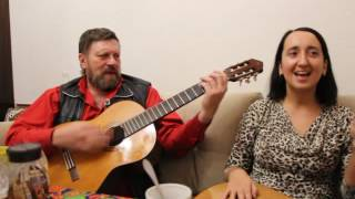Песни под Гитару. Мне нужна жена. Елена Оболикшта и Олег Синицын.